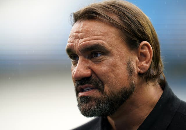 <p>Daniel Farke is remaining calm despite an ominous start for the Canaries </p>