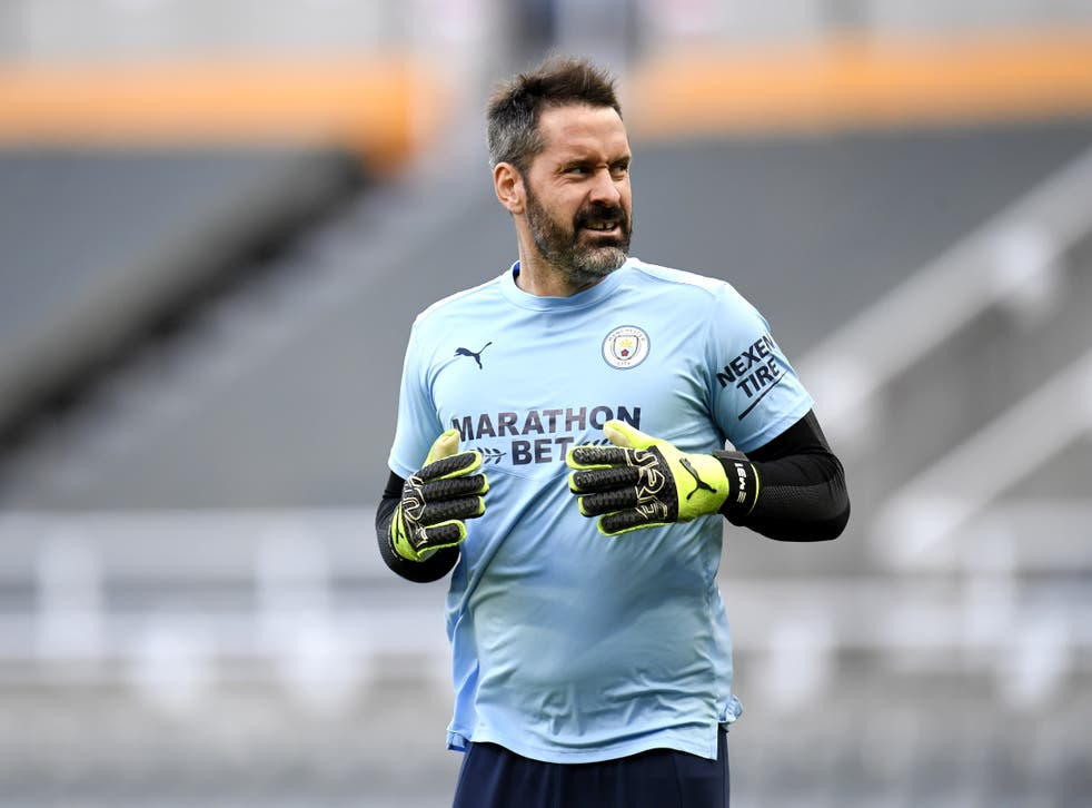 Scott Carson could make a rare appearance for Manchester City this weekend (Peter Powell/PA)