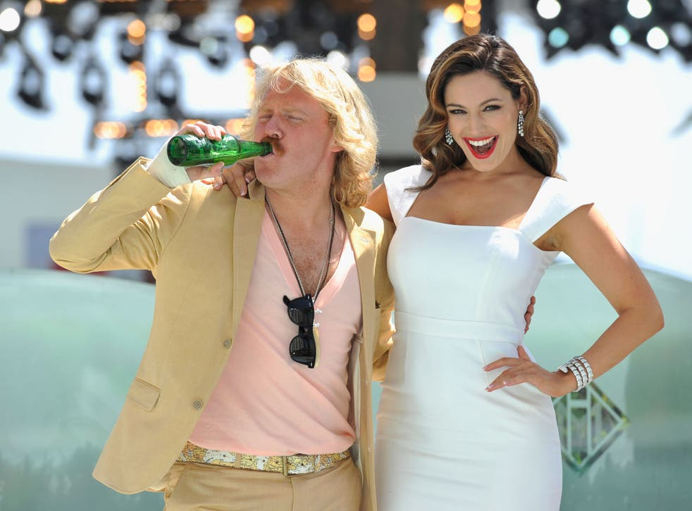 <p>Leigh Francis as Keith Lemon with Kelly Brook at Cannes Film Festival, May 2012</p>
