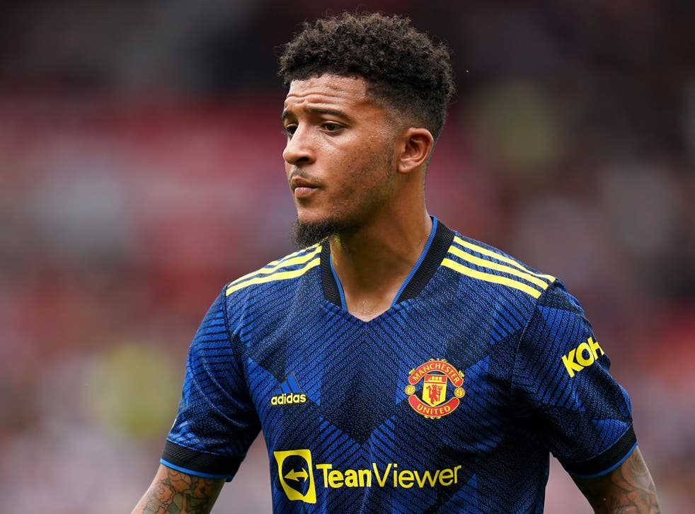 Manchester United's Jadon Sancho could make his first home start against Newcastle (Andrew Matthews/PA)