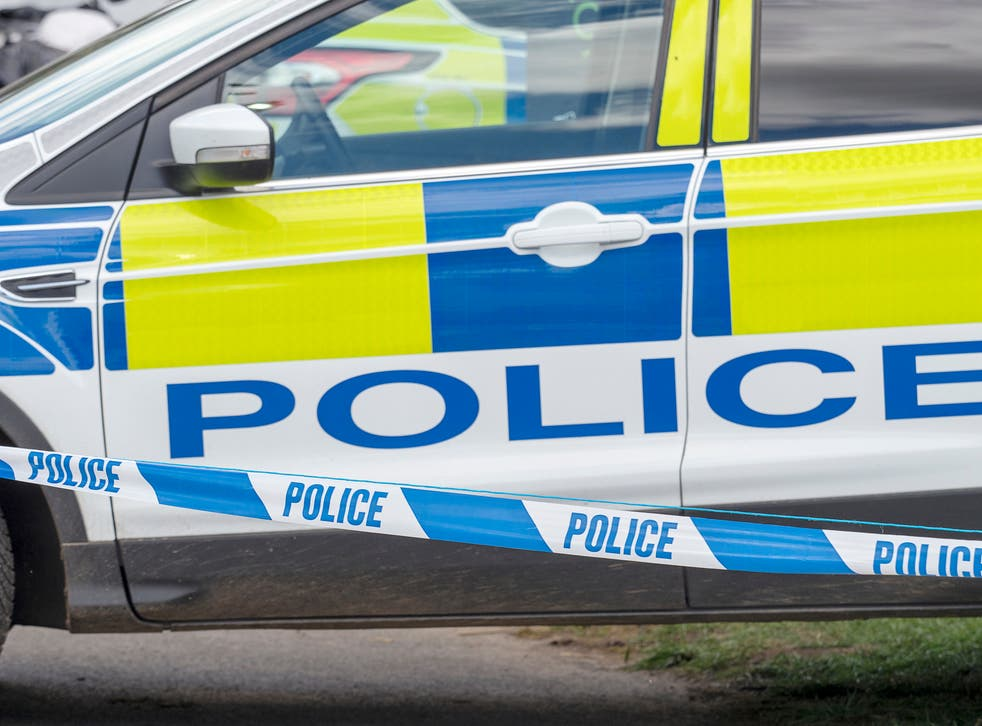 <p>Police officers were called to reports of a collision in a suburb of Manchester on Tuesday night </p>