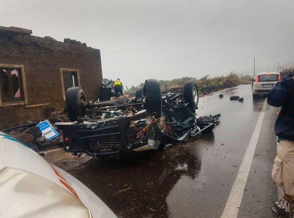 Italy Tornado Deaths