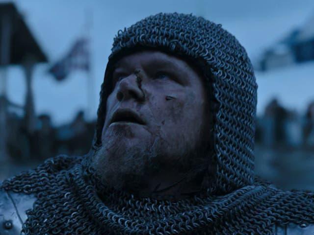 <p>Matt Damon in 'The Last Duel'</p>