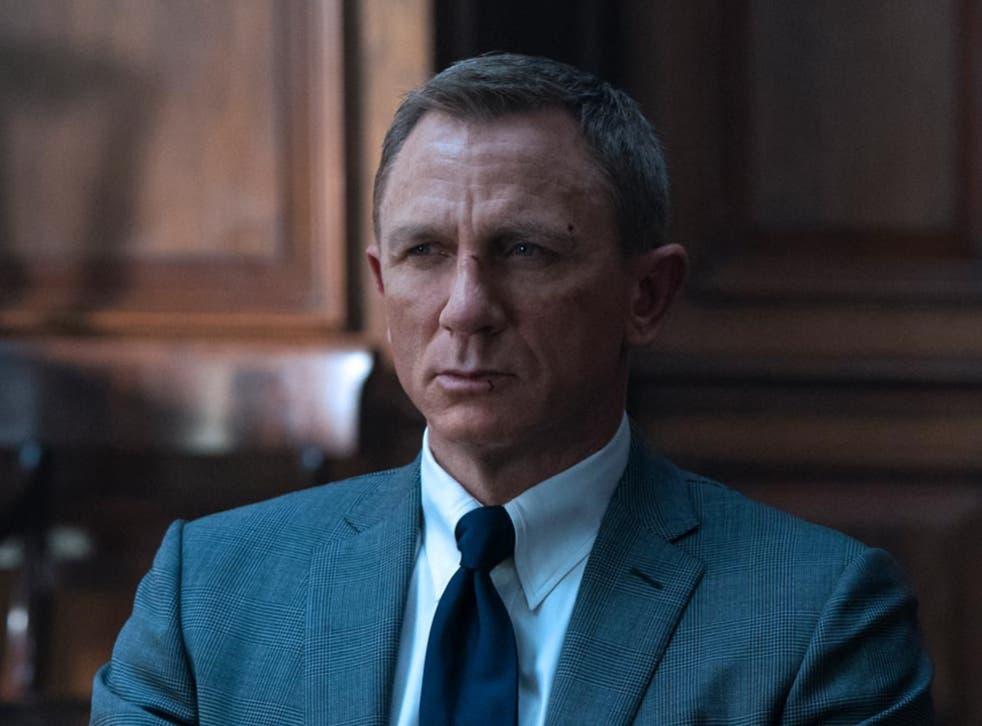 <p>Daniel Craig in No Time to Die</p>