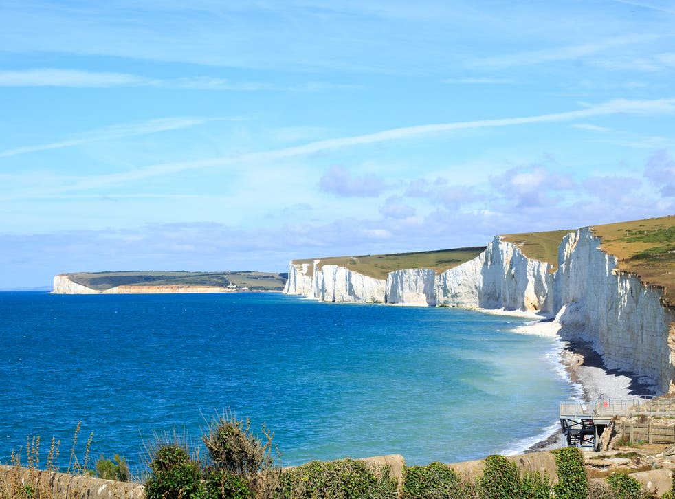 <p>The body of the man found dead in the Channel was brought ashore near Eastbourne, Sussex Police said</p>