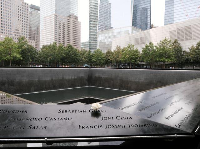 El sitio conmemorativo del 11 de septiembre en Ground Zero