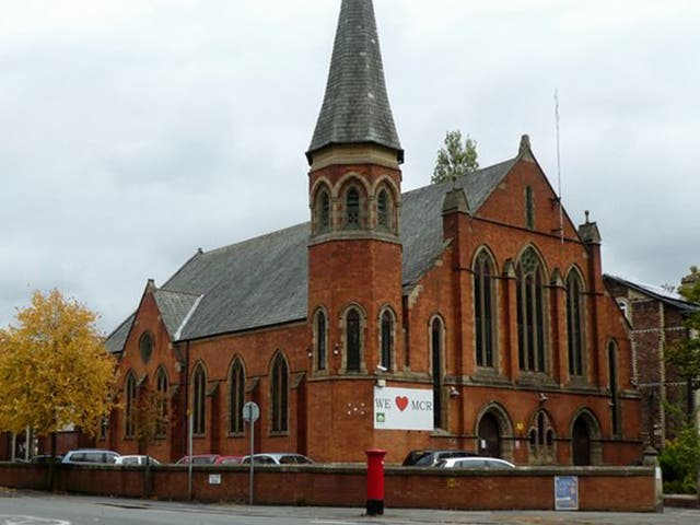 <p>The fire was reported just before midnight on Friday at Didsbury Mosque</p>