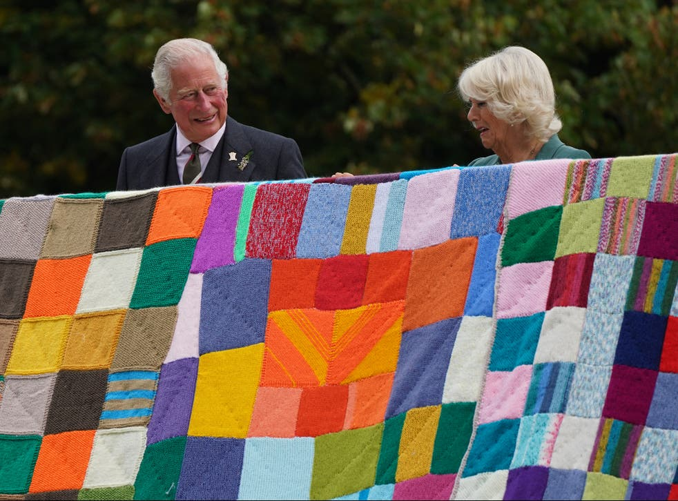 <p>The Prince of Wales and the Duchess of Cornwall during a visit to Scotland to promote The Prince's Foundation</p>