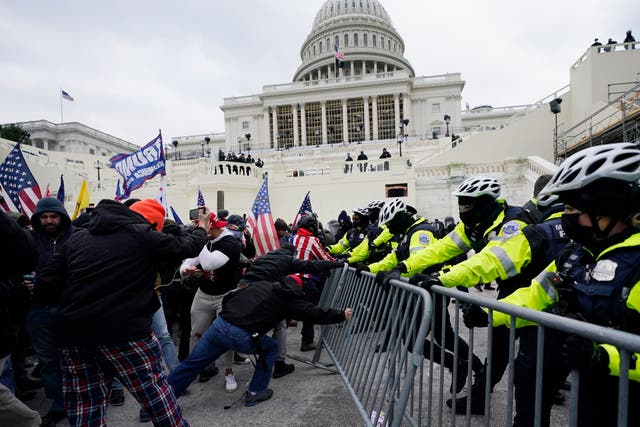 Capitol Breach Officers Discipline