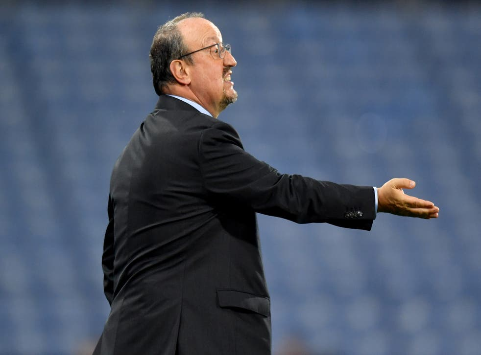 <p>Everton manager Rafael Benitez expects big improvements from his side (Anthony Devlin/PA)</p>