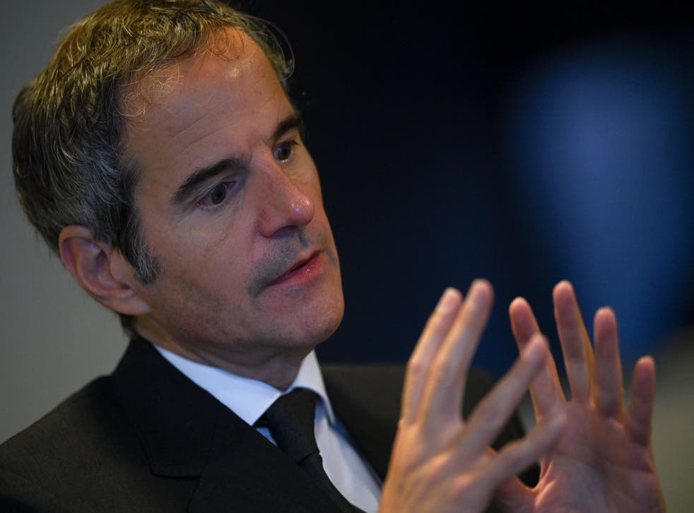<p>Director general of the International Atomic Energy Agency Rafael Grossi rushed to Tehran on Sunday to try and hammer out a deal and avoid a divisive debate in Vienna this week</p>