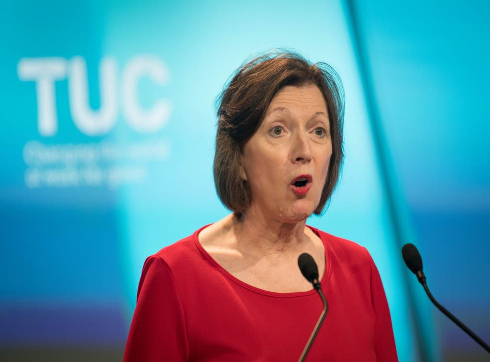 <p>Frances O'Grady, general secretary of the TUC: 'In an age of anxiety, working people are crying out for security'</p>