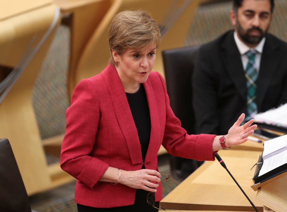 <p>Nicola Sturgeon will conclude the SNP conference on Monday</p>