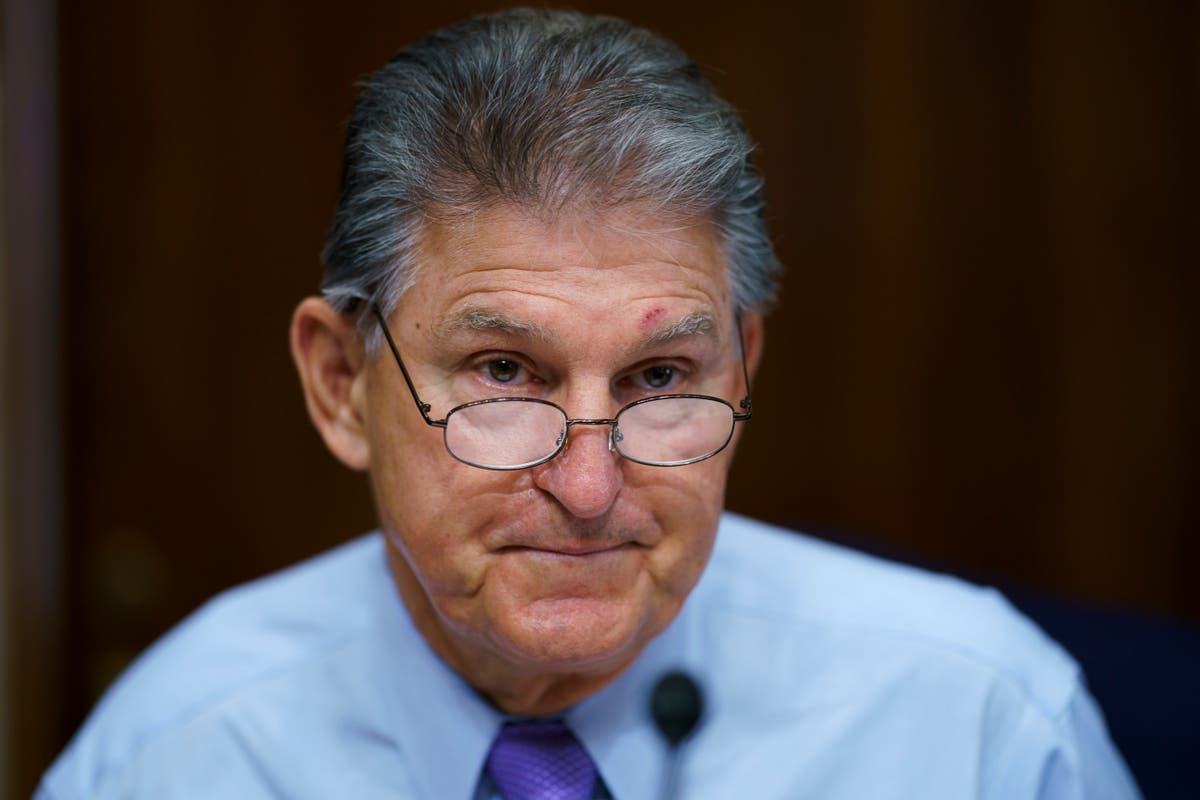 Joe Manchin hits back at 'out-of-stater' Bernie Sanders after op-ed criticising him for stalling Biden agenda