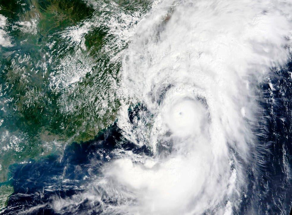 Asia Typhoon
