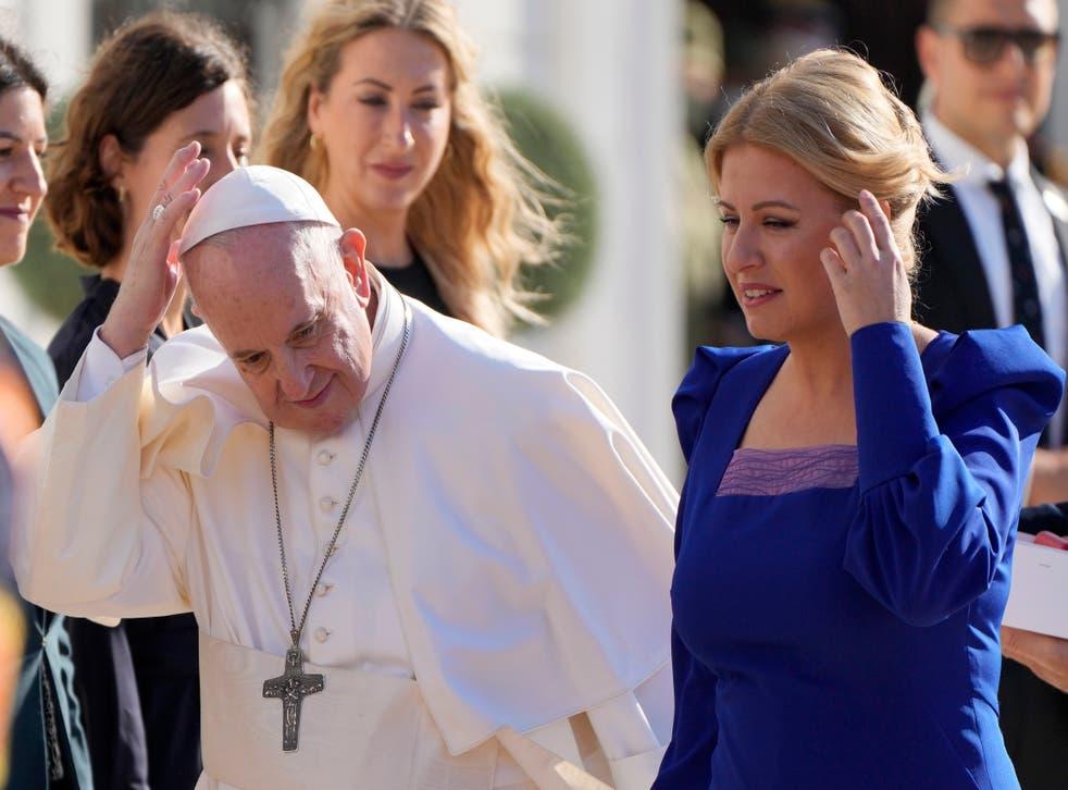 Pope Slovakia