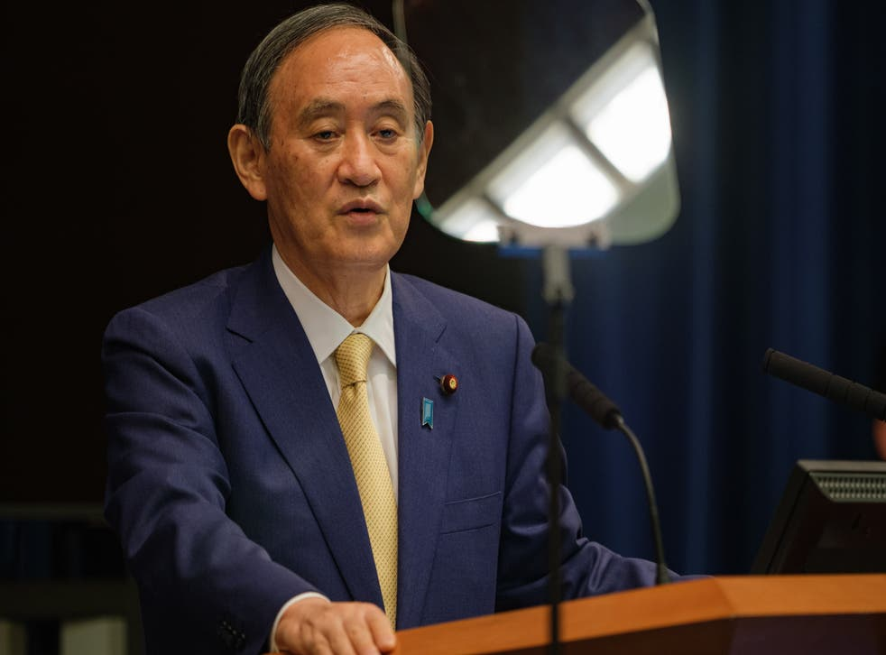 <p>Japan outgoing PM Suga led cooperation with Southeast Asia countries </p>