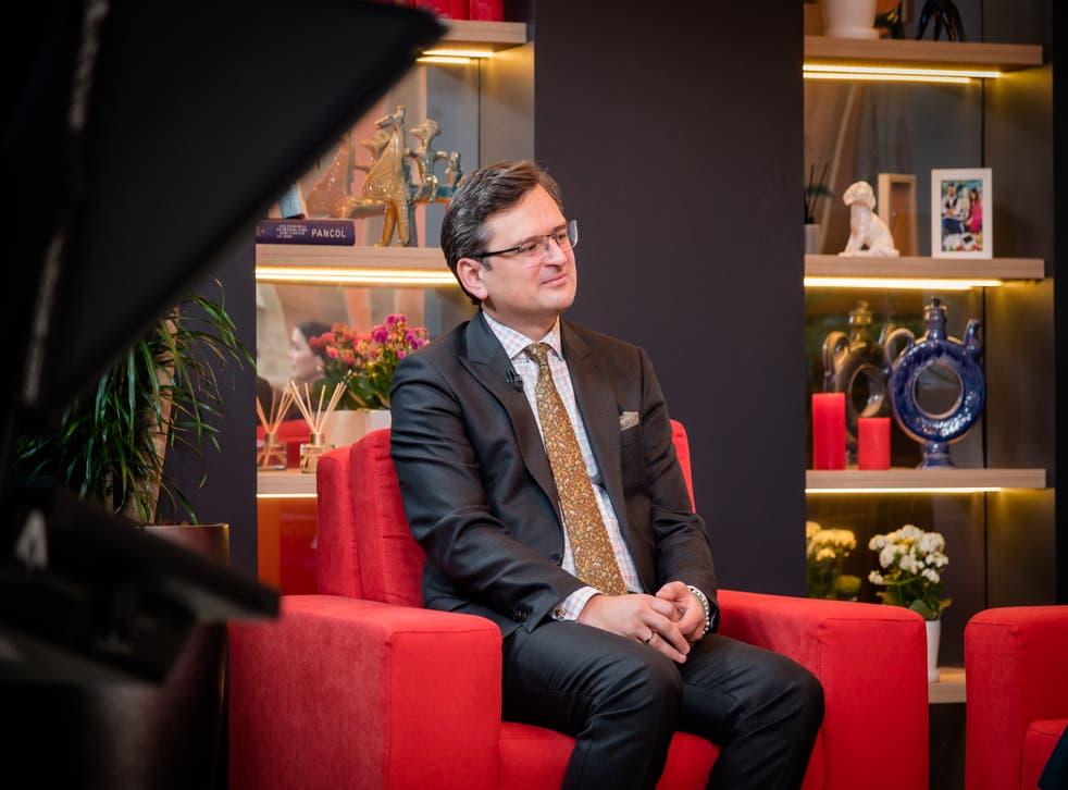 <p>Dmytro Kuleba, Ukraine's foreign minister</p>