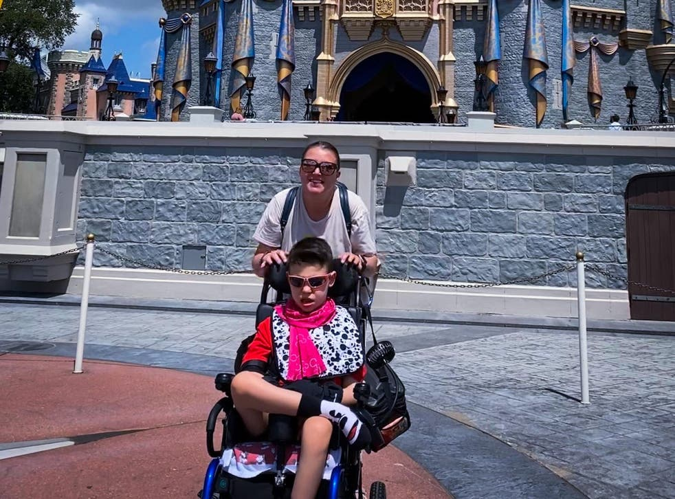 <p>Tricia Proefrock took her son to Walt Disney World and got a rude note about how she parked to best accommodate his needs </p>