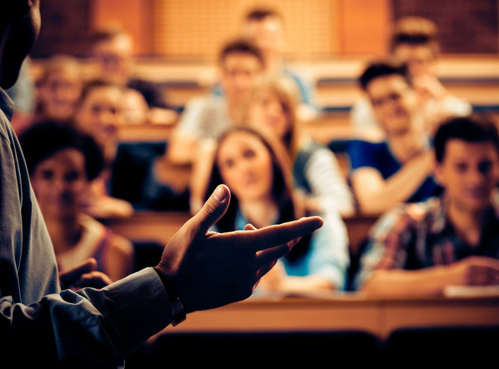 <p>The government has proposed new laws to protect freedom of speech on campus</p>