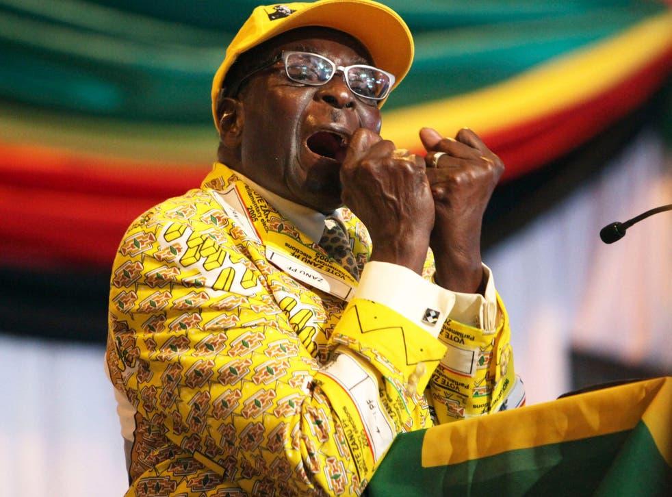 <p>British American Tobacco has been accused of negotiating a bribe for former Zimbabwean leader Robert Mugabe</p>