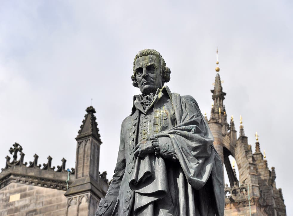 <p>Adam Smith argued that we're guided by an 'impartial spectator' and have the ability to judge our own and others' behaviour  </p>