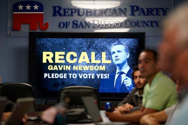 California Recall-GOP Fraud Claims