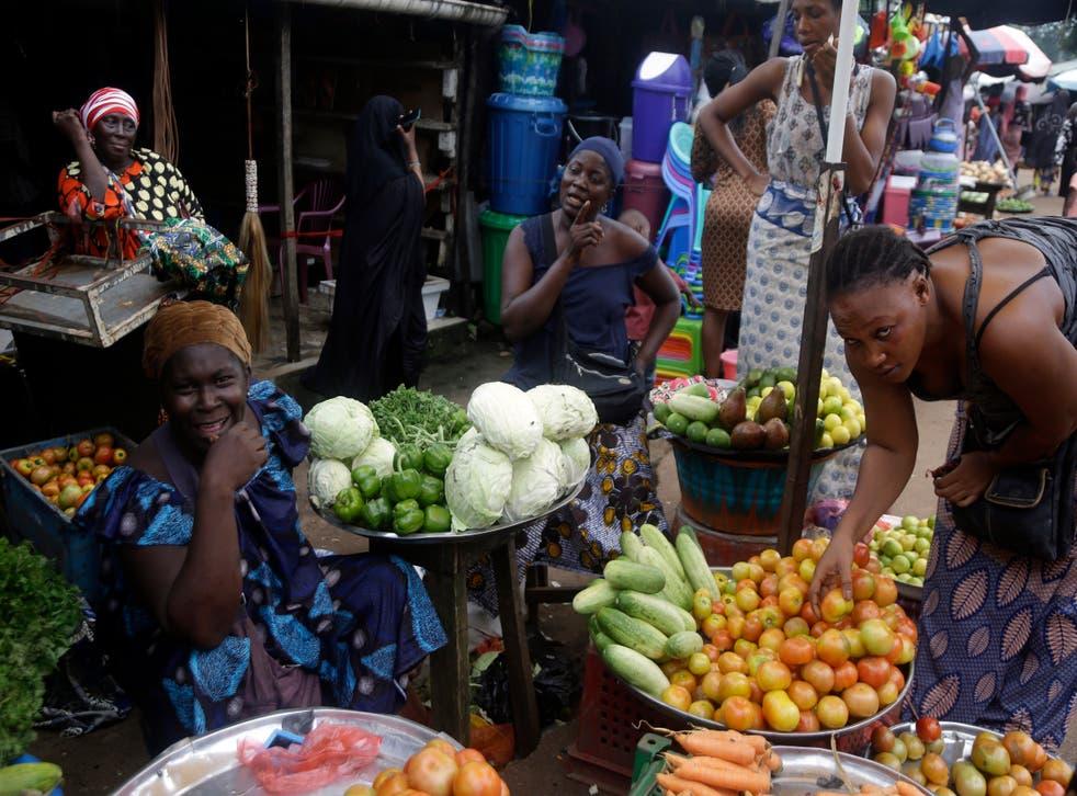 APTOPIX Guinea Daily Life