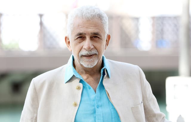 <p>File image: Naseeruddin Shah at a photocall during day three of the 12th annual Dubai International Film Festival in 2015</p>