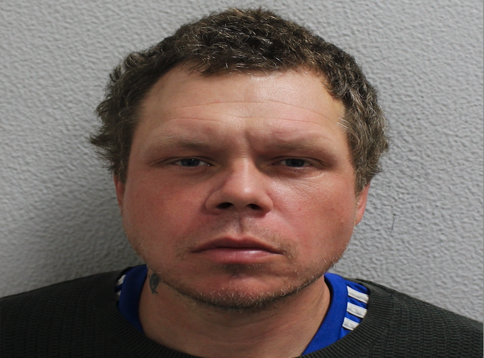 <p>Alan Keeble , 40, has been jailed for seven years for causing grievous bodily harm </p>