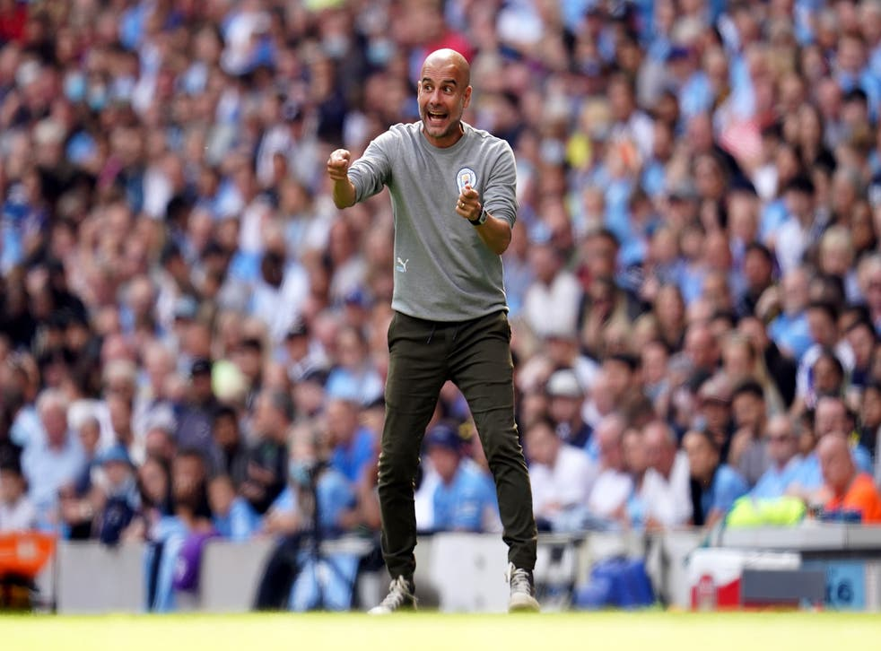 Pep Guardiola is preparing for Manchester City's latest Champions League campaign (Nick Potts/PA)
