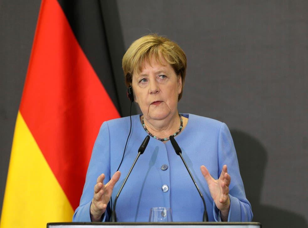 Albania Germany Merkel