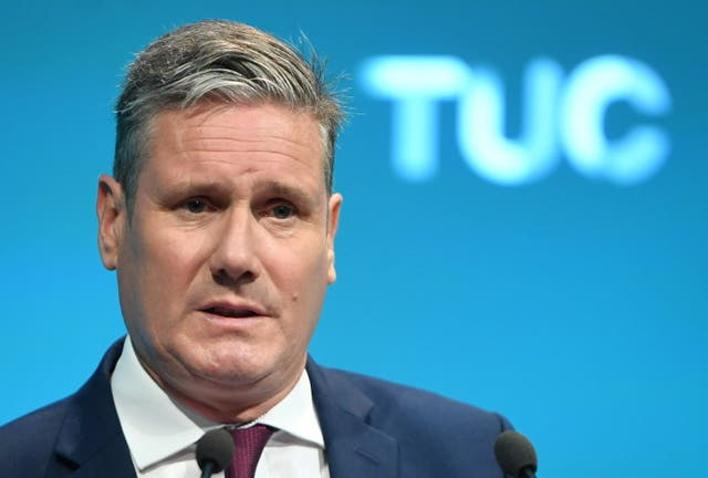 <p>Keir Starmer gives the TUC the same message his predecessor did 28 years ago </p>