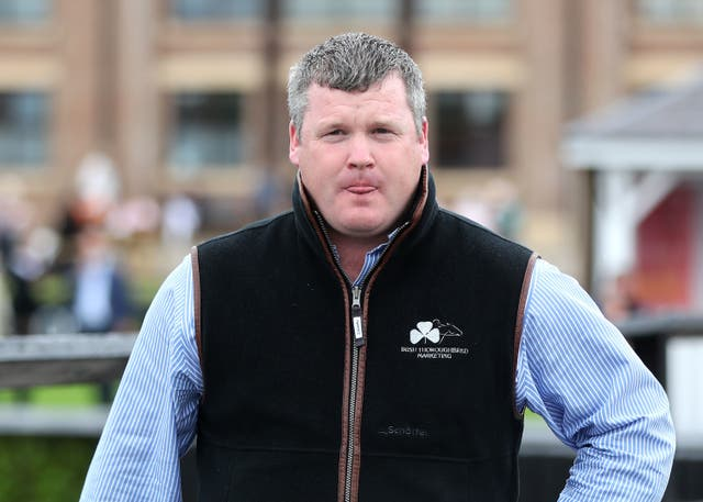 <p>Gordon Elliott returned to action at Punchestown on Tuesday </p>