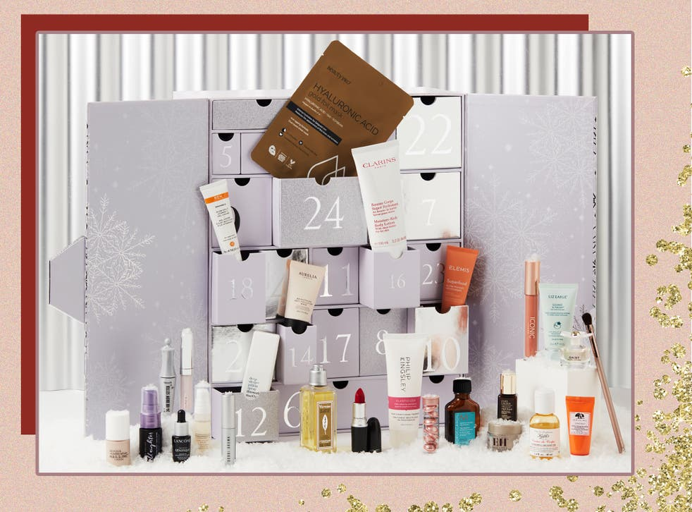 <p>There's six full-sized products to enjoy in Next's calendar </p>