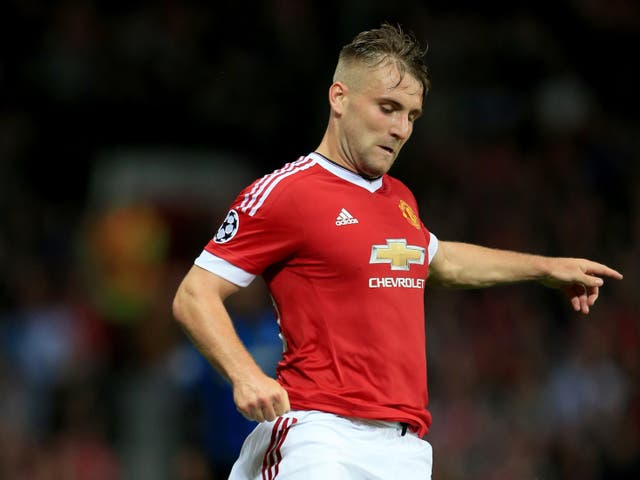 <p>Manchester United's Luke Shaw suffered the injury in a Champions League game in 2015 (Nick Potts/PA).</p>