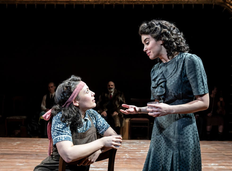 <p>Molly Osborne (left) and Alexandra Silber in 'Indecent'</p>
