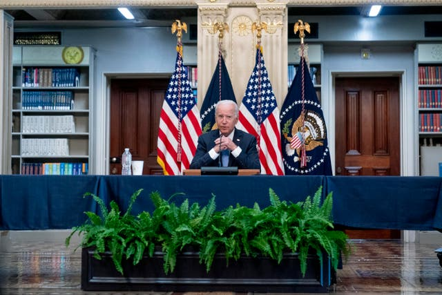 <p>Biden aseguró que Estados Unidos solo podrá tener éxito si las comunidades latinas lo tienen </p>
