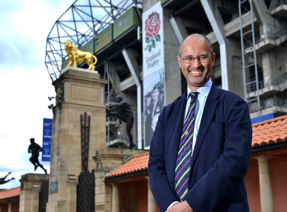 <p>Tom Ilube is the new chair of the Rugby Football Union</p>