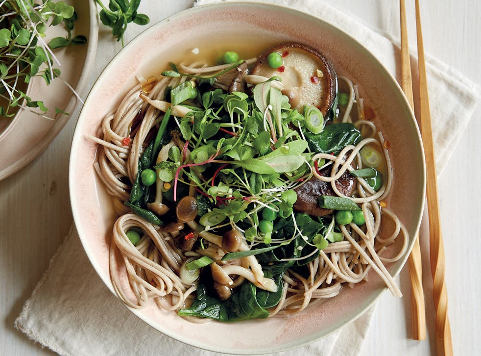 <p>In Japan, drinking the soba-noodle water is part of the pleasure of the meal </p>