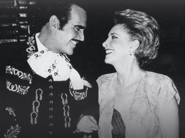 """<p>Pese al estilo pícaro del """"Rey de las Rancheras"""", """"Don Chente"""" y """"Doña Cuquita"""" llevan casi 60 años de matrimonio. </p>"""