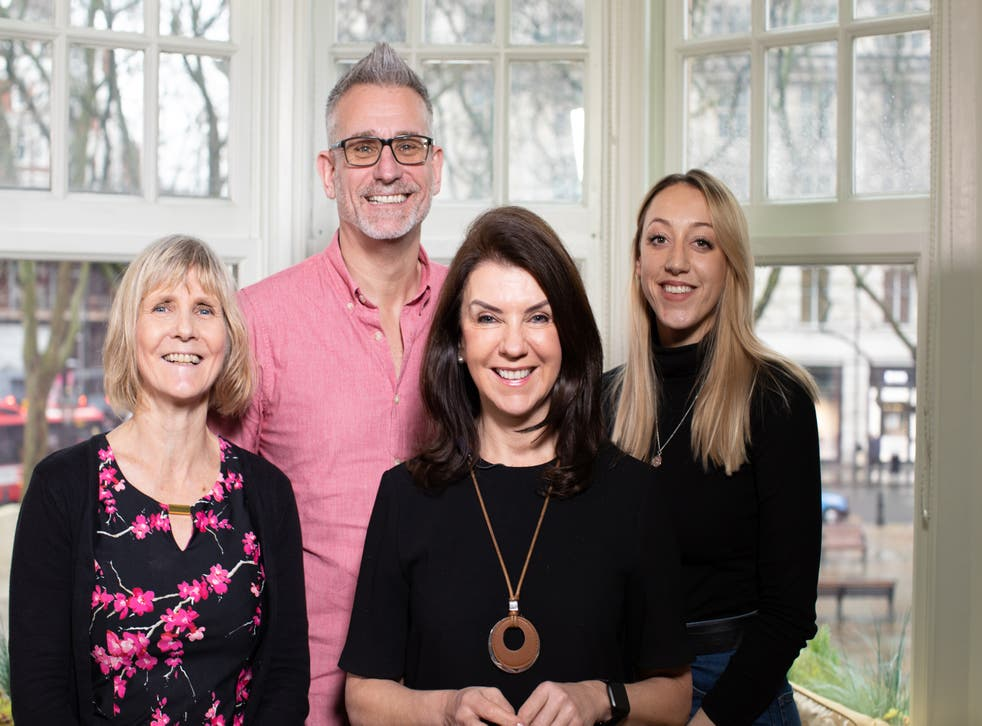 Dr Dawn Harper (third from right) delves into IBS in her new documentary (Firecrest/PA)