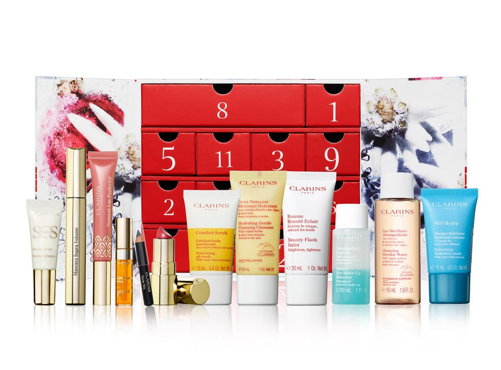 Clarins advent calendar 2021: 12 days of Christmas treats for men and women    The Independent