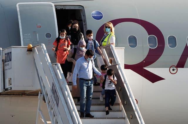 North Macedonia Afghanistan Evacuees