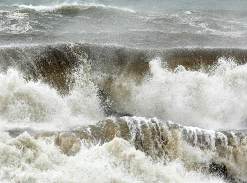 <p>An orange weather warning is in place in the region </p>