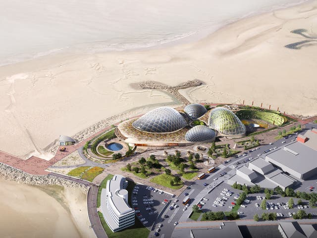 <p>An image of the proposed Morecambe Eden Project</p>