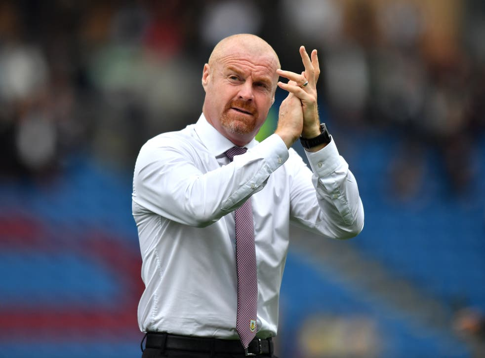 Sean Dyche has committed his future to Burnley (Anthony Devlin/PA)