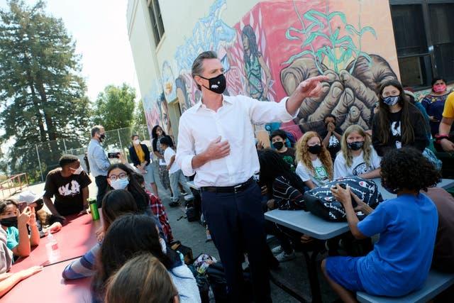 <p>California Recall Governor's Agenda</p>