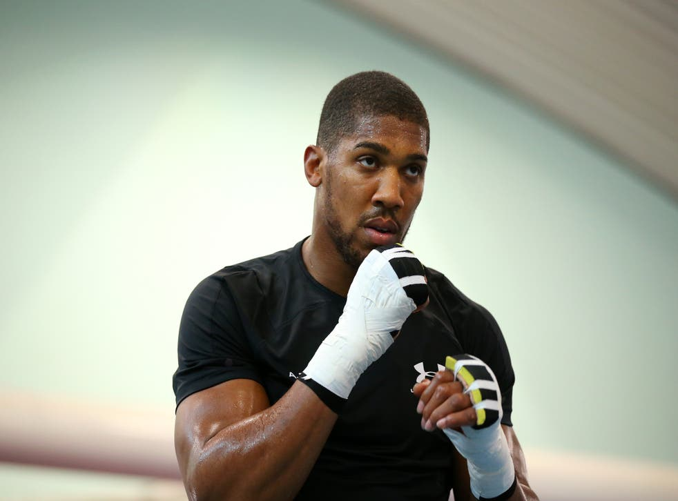 <p>Anthony Joshua is set to return to the ring for the first time this year  </p>