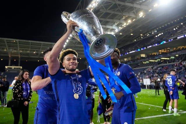 <p>Reece James won the Champions League with Chelsea last season </p>